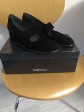 Carvela Black Suede Shoes Size 38.5. Worn Once