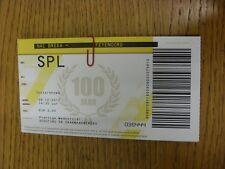 09/12/2012 Ticket: NAC Breda v Feyenoord  . Thanks for viewing this item, we try