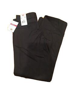 Dickies Womens Original Work Pants Straight Leg  Original Fit Black Size 4 R