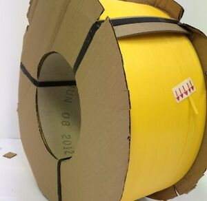 """Poly Strapping 1/2"""" x 0.22 9,900 Ft 8 x 8 Machine  Grade"""