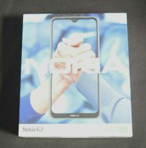Nokia 6.2 Android 9.0 Pie 64 GB Triple Camera Unlocked Smartphone, Ice Blue