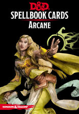 D&D Spellbook Cards: Arcane - Dungeons & Dragons - Version 3 - Laminated