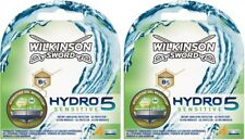 Wilkinson Sword Hydro 5 Sensitive Razor Blades 2 x 4 Packs Mens Shaving Genuine
