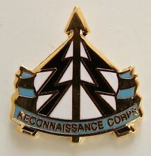 RECONNAISSANCE CORPS CLASSIC HAND MADE IN UK PLATED LAPEL PIN BADGE