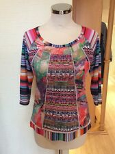 Olivier Philips Top Size 12 BNWT Green Blue Pink Orange White RRP £97 NOW £39