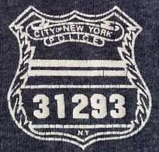 NYPD New York City Police Department NYC T-Shirt Sz M