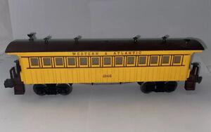 LIONEL 1865 Postwar Western & Atlantic W&ARR General Passenger Coach