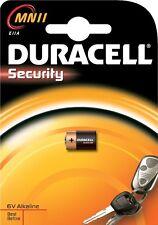 BATTERIE DURACELL MICRO EINGABESTIFT MN11 1 STCK. ALKALINA SECURITY 6V E11A