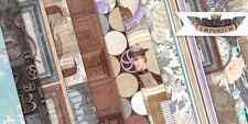 BoBunny  Penny Emporium Scrapbook  Paper Kit  12 pcs Bo Bunny Lot 12x12 Summer