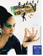 PUBLICITE ADVERTISING 025  1998  TUTTI FREE 2   sucre en morceaux  allégé
