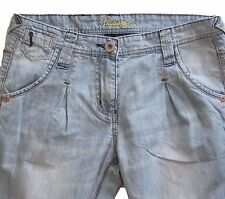 New Womens Blue Tapered NEXT Jeans Size 12 Petite L 28 LABEL FAULT RRP £32