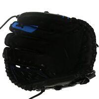 Nike MVP Edge Baseball Mitt--Black/Blue (11.50 inch basket)