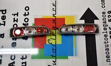 FARI POSTERIORI FONDO NERO FIAT 600 SEICENTO 1998+ LOOK TUNING