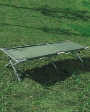 US Feldbett Alu oliv 200 cm