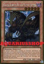 Yu-Gi-Oh Goldd Signore Wu del Mondo Oscuro PGLD-IT054 Gold Ultra ITA Dark World