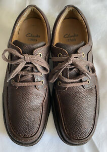 MENS CLARKS ACTIVE AIR NATURE THREE SHOES UK 8H/42