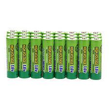 24 pcs 2500mWh 1.6V Volt AA 2A NiZn Rechargeable Battery PowerGenix Batteries