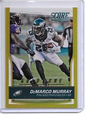 2016 SCORE DEMARCO MURRAY GOLD ZONE PARALLEL SP #29/99 JERSEY NUMBER EAGLES!