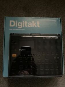 Elektron Digitakt Drum Computer and Sampler Excellent Condition! Cover Included