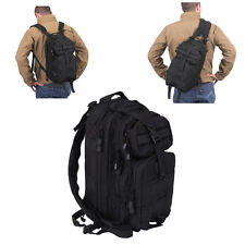 Medium Convertible Transport Tactical Military MOLLE Single Sling Pack Backpack
