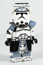 Lego Custom WOLFPACK CAPTAIN Clone Minifigure -Full Body Custom Printed! CAC