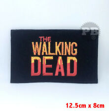 The Walking Dead TV Series Iron on Sew on Embroidered Patch