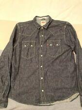 Levis western denim shirt size XXL