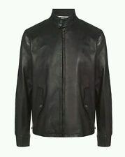 Ralph Lauren Leather Zip Collared Coats & Jackets for Men
