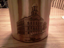 Wendell August Forge bronze ice bucket Faneuil Hall Boston Edison Institute 1984