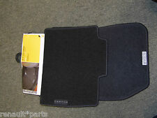 Brand New Genuine Renault Captur Mats Set Of 4 Carpet Floor Dirty Feet