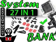 Kit de montage XL 25 éléments pour la caméra GoPro Hero 2 Hero 3 + Adaptateur