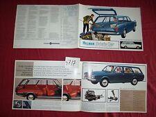 N°4717 / dépliant HILLMAN Estate Car   english text 1967