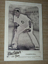 RARE 2013 NM / MT Allen Ginters MIGUEL CABRERA JUMBO Card MIGGY Detroit Tigers !