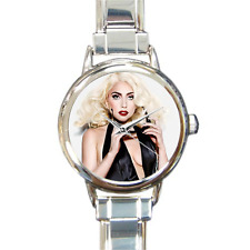 Reloj Pulsera nuevo Reloj de Lady Gaga italiano de Dijes Ventiladores De Música Excelente Regalo Para Fanáticos!