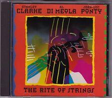 Stanley Clarke, Al Di Meola & Jean-Luc Ponty - The Rite Of Strings - CD