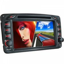 AUTORADIO APPROPRIÉ POUR MERCEDES W168 W203 C209 W209 NAVI DVD USB SD BLUETOOTH