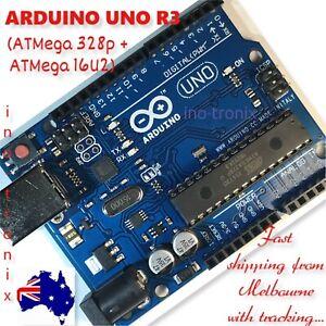 Arduino UNO R3 with ATMEL ATMega 328P & Mega 16U2 - Original Design - AU stock.