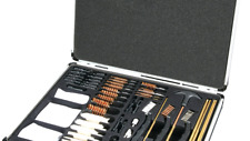 Outers Universal .17 & Up 62-Piece 70090 Gun Cleaning Kit In Aluminum Case