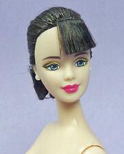 Barbie Brunette Ponytail Blue Eyes Spring In Tokyo City Seasons Nude Doll Stand