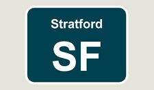 1x Stratford Train Depot Sticker/Decal 100 x 77mm