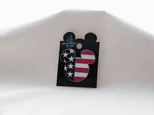 New Walt Disney World Mickey Stars & Stripes American Flag 2001 Collector Pin