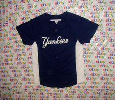 MEN'S MLB NEW YORK YANKEES # 10 AUGUSTA SPORTSWEAR SCREEN PRINT JERSEY LARGE