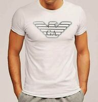NWT Emporio Armani Mens White T shirt,Slim fit size M*L*XL,Muscle fit