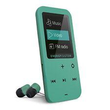 Reproductores de MP3 verdes Energy Sistem MP4
