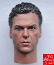 "1/6 scale Head Sculpt Michael Keaton 1989 Batman fit 12"" figure body"