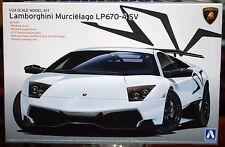 2009 Lamborghini Murcielago LP 670 4 SV, 1:24, Aoshima 7082