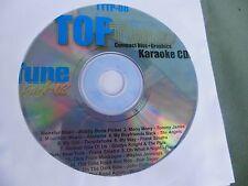 Top Tunes TTTP-08 Karaoke CDG ( Rock, Pop, Country)