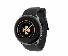 MyKronoz ZeRound Elegant Smartwatch with Circular Touchscreen Black