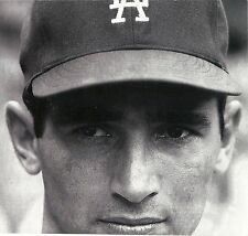 THE GREAT LA DODGER SANDY KOUFAX AND HIS CLASSIC STARE IN AT THE BATTER