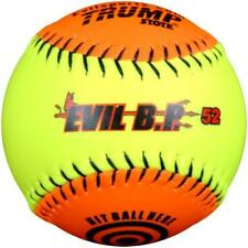 "Evil Ball 12"" BP 52 Batting Practice Ball .52/300 Softball- Dozen Evil BP 52-DZ"
